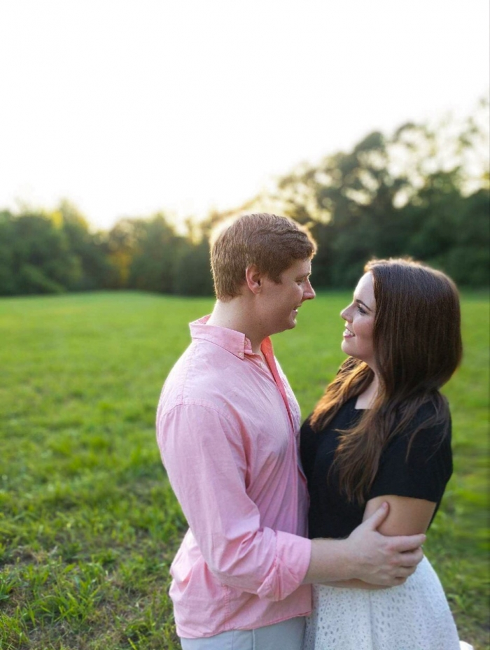Elizabeth and Beaumont's Engagement in Chateau Elan, Braselton GA