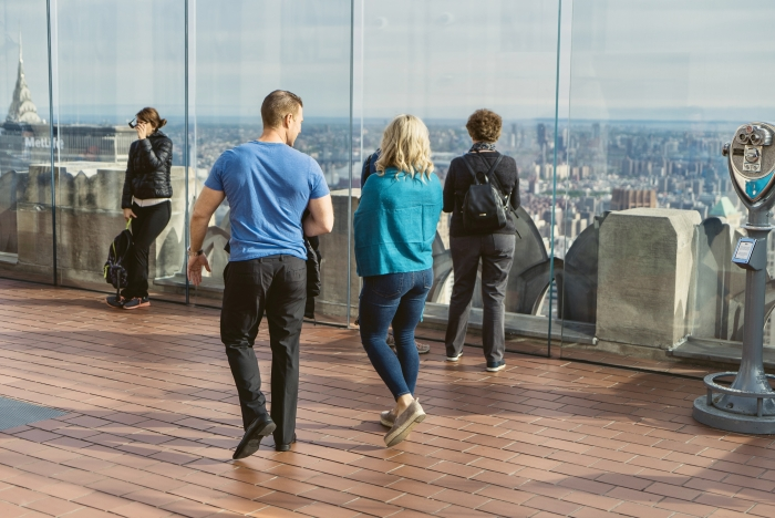 Engagement Proposal Ideas in New York City - Top of the Rock