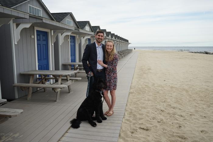 Engagement Proposal Ideas in Ship Ahoy Beach Club in Seabright, NJ