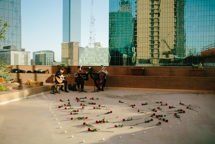 Alyssa's Proposal in Fairmont Hotel. Dallas, TX