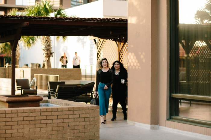 Alyssa and Kevyn's Engagement in Fairmont Hotel. Dallas, TX