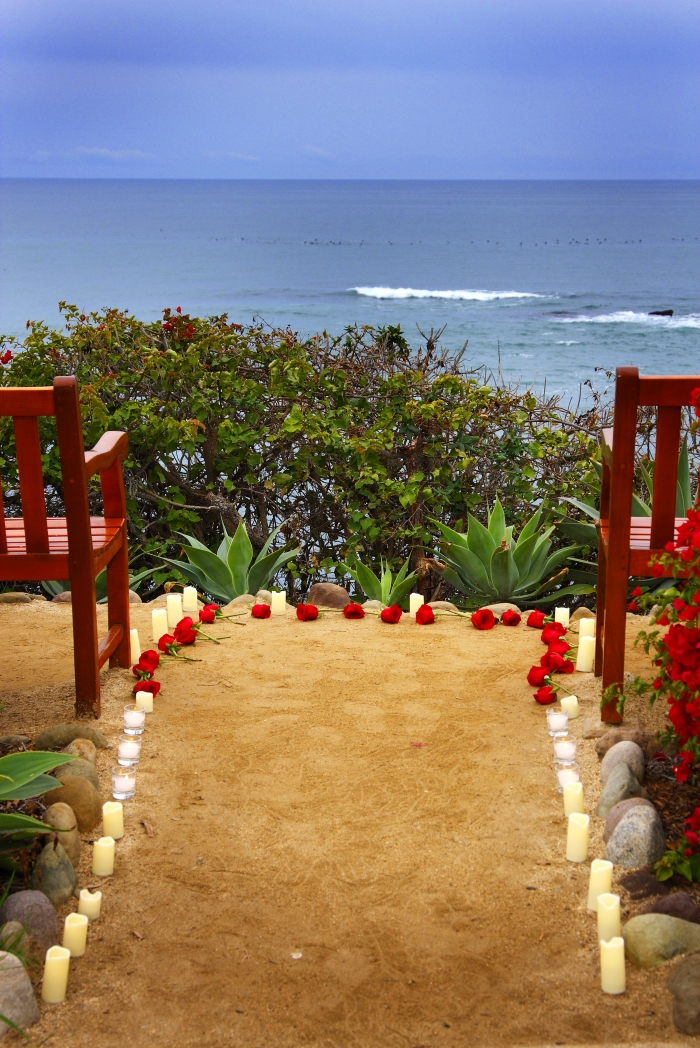 Kyanna's Proposal in Montage Laguna Beach