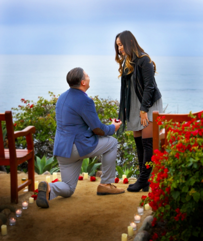 Wedding Proposal Ideas in Montage Laguna Beach