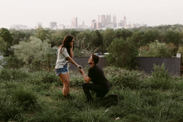 Blakely's Proposal in Atlanta, Ga