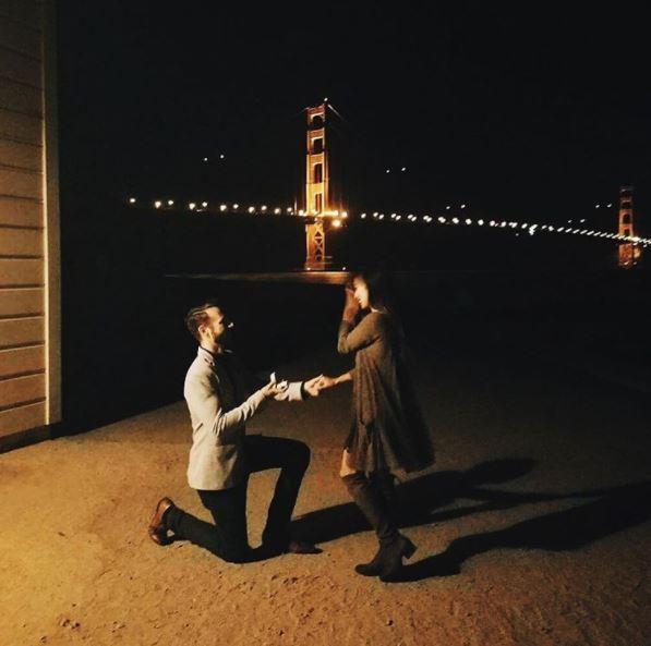 Wedding Proposal Ideas in Crissy Field Beach, San Francisco
