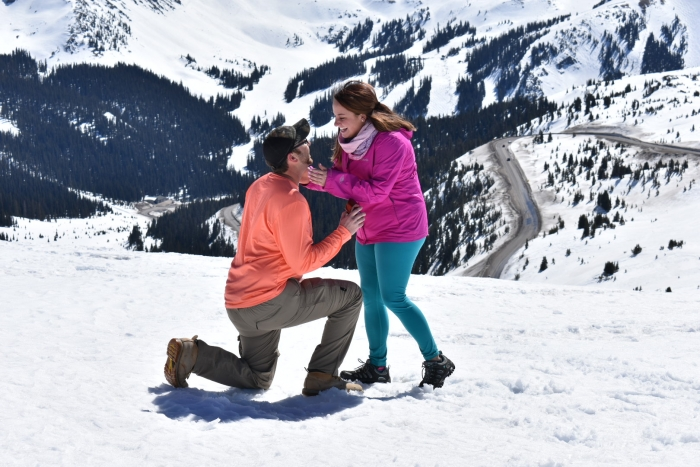 Where to Propose in Loveland Pass, CO