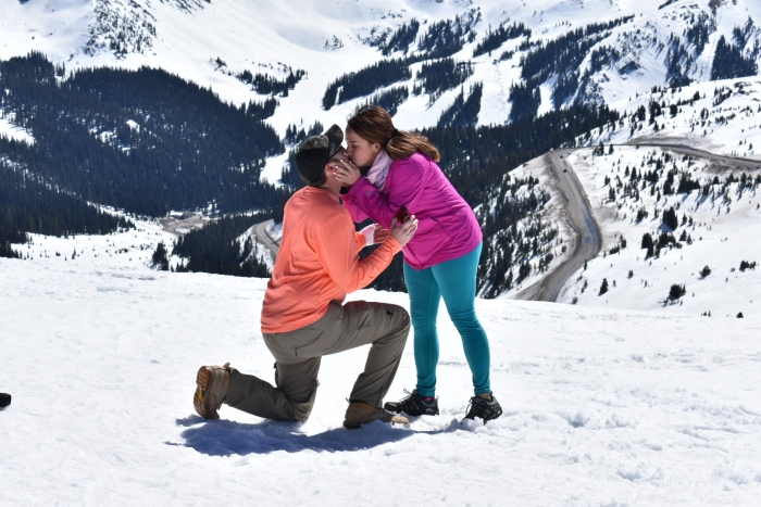 Engagement Proposal Ideas in Loveland Pass, CO