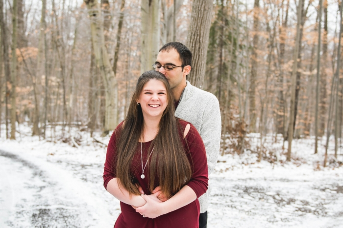 Natalie and Scott's Engagement in Youngstown, Ohio