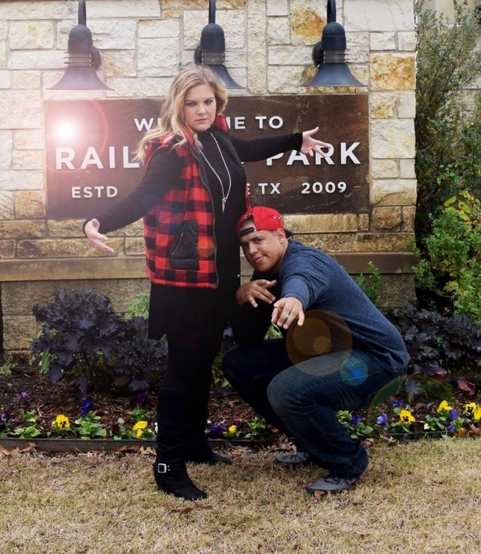 Amber's Proposal in Klyde Warren Park - Dallas, TX