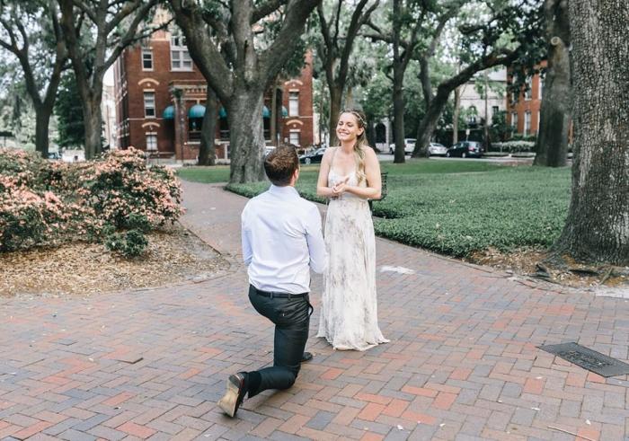 Engagement Proposal Ideas in Savannah, Georgia