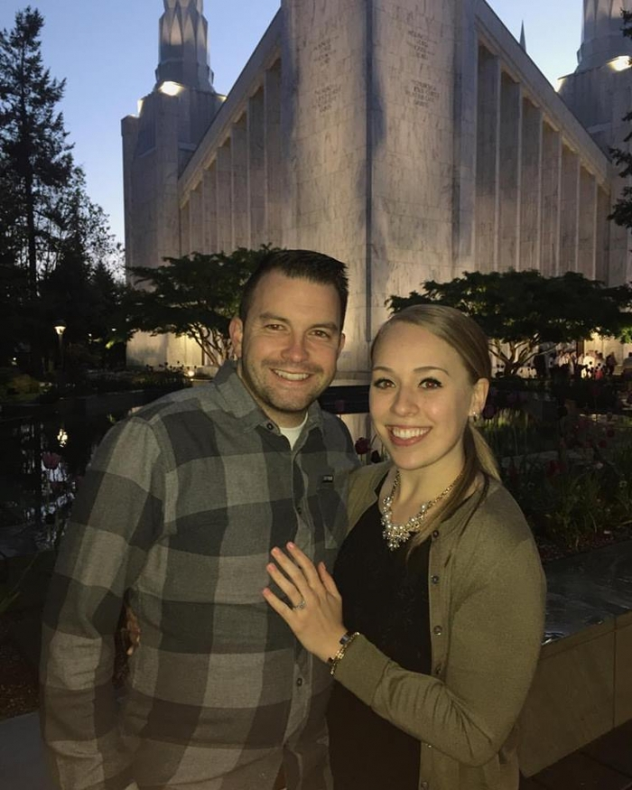 Where to Propose in Portland Oregon LDS Temple