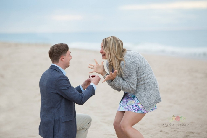 Wedding Proposal Ideas in Nauset Beach in Orleans, MA