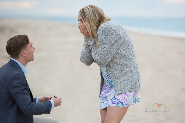 Engagement Proposal Ideas in Nauset Beach in Orleans, MA