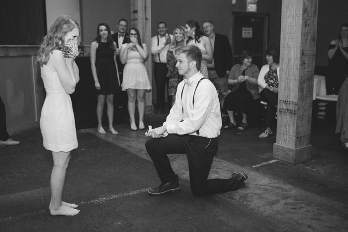Lindsay's Proposal in His sister's wedding