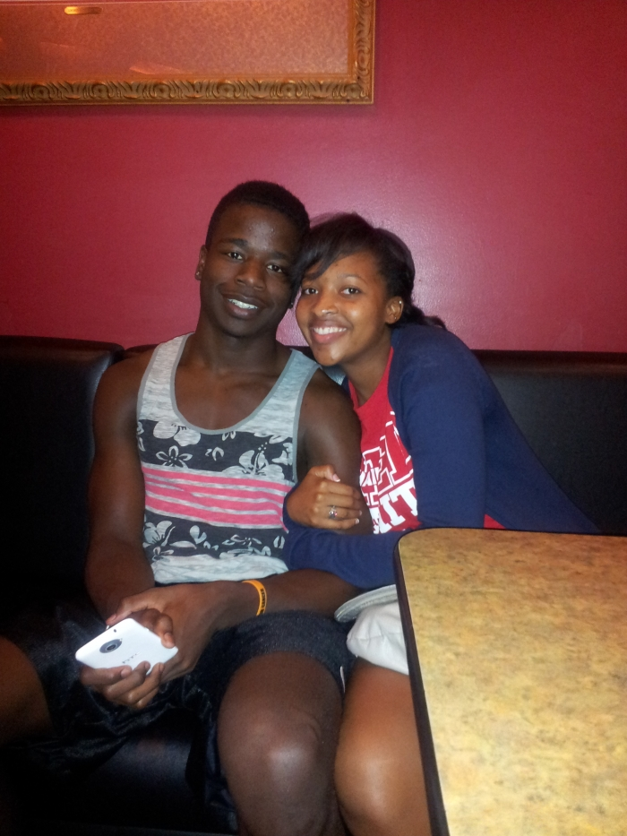 Image 1 of Zoe and Montrel
