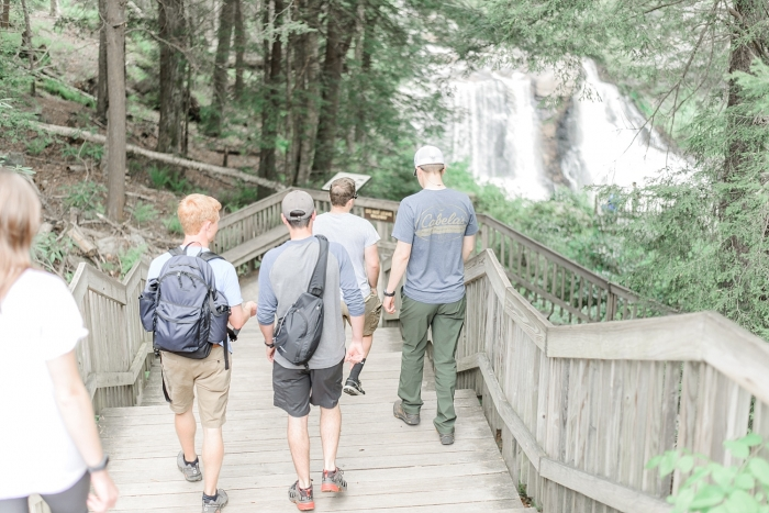 Marriage Proposal Ideas in Black Water Falls State Park in West Virginia