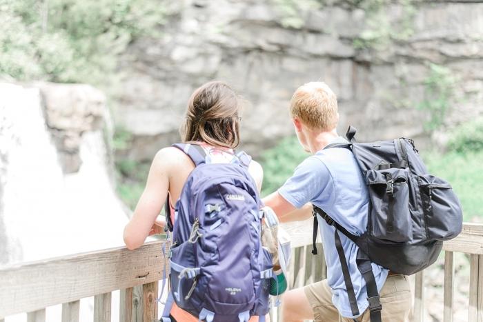 Wedding Proposal Ideas in Black Water Falls State Park in West Virginia