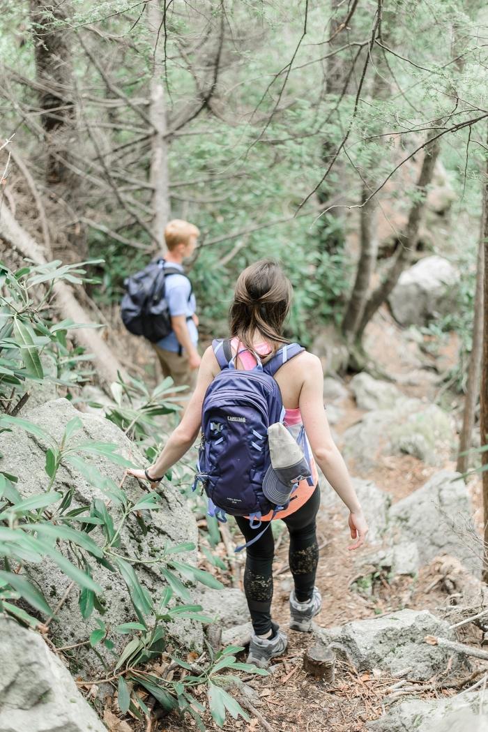 Blake's Proposal in Black Water Falls State Park in West Virginia