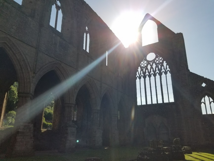 Jamie and John's Engagement in Tintern Abbey, Wales