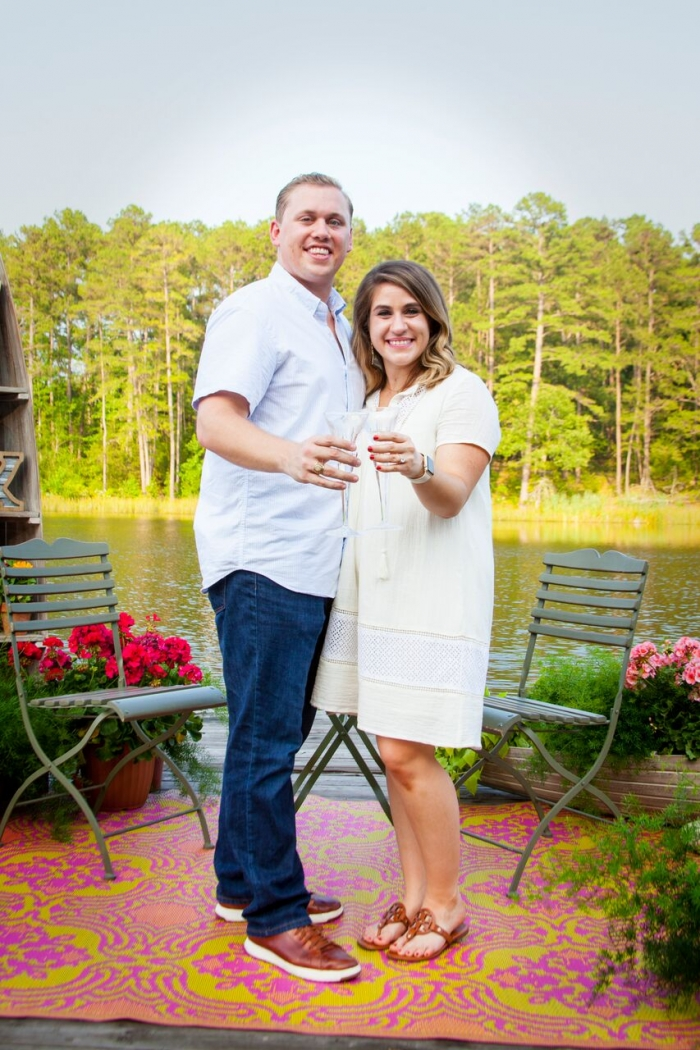 Jayna and Malcolm's Engagement in Henderson, Texas