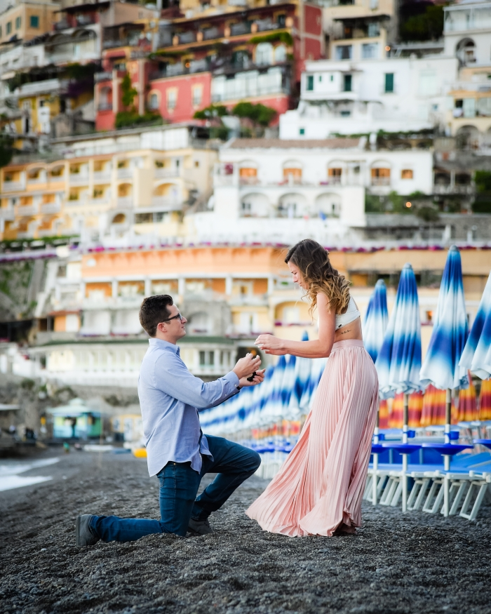 Brittany's Proposal in Positano, Italy