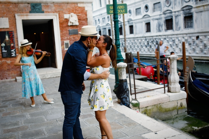 Bianca and Logan's Engagement in Venice, Italy