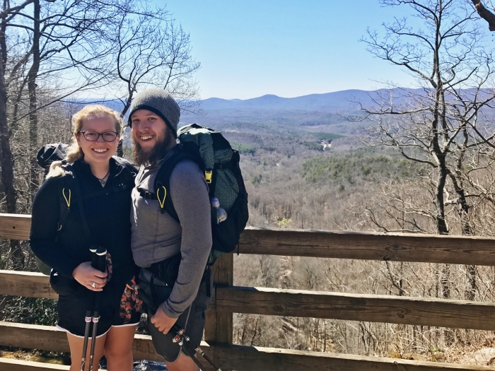 Ashley and Miles's Engagement in Roan Mountain on the Appalachian Trail in Tennessee