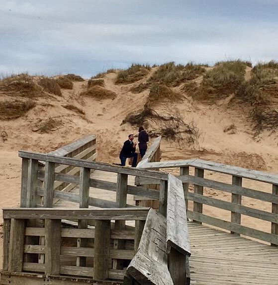 Savannah and Madison's Engagement in Sleeping Bear Dunes National Lakeshore