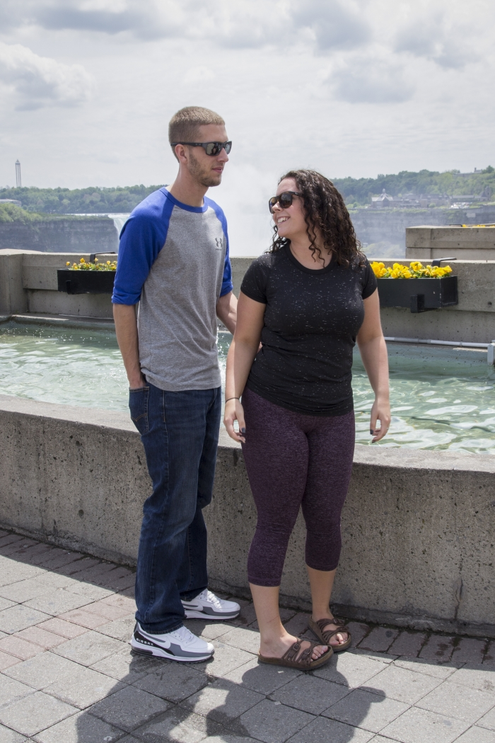 Morgan and Garret's Engagement in Niagara Falls