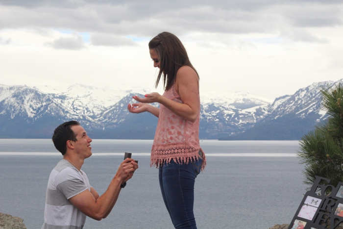 Proposal Ideas Cave Rock, Lake Tahoe