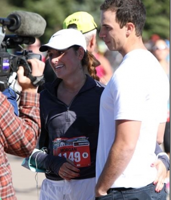 Where to Propose in Denver Colfax Marathon