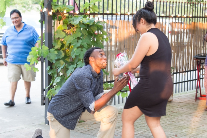Marriage Proposal Ideas in 1424 Bistro, 1424 Washington Ave, Waco, TX 76701