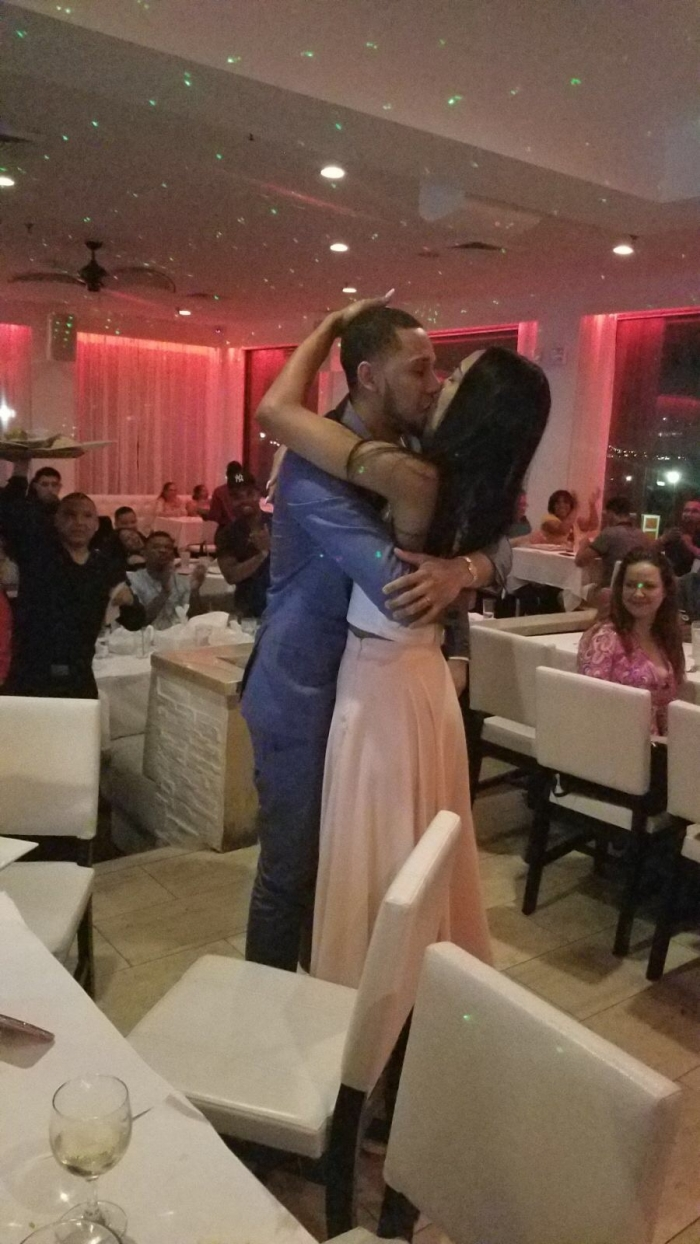 Wedding Proposal Ideas in Don coqui restaurant on the water