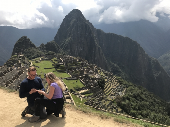 Marriage Proposal Ideas in Machu Picchu