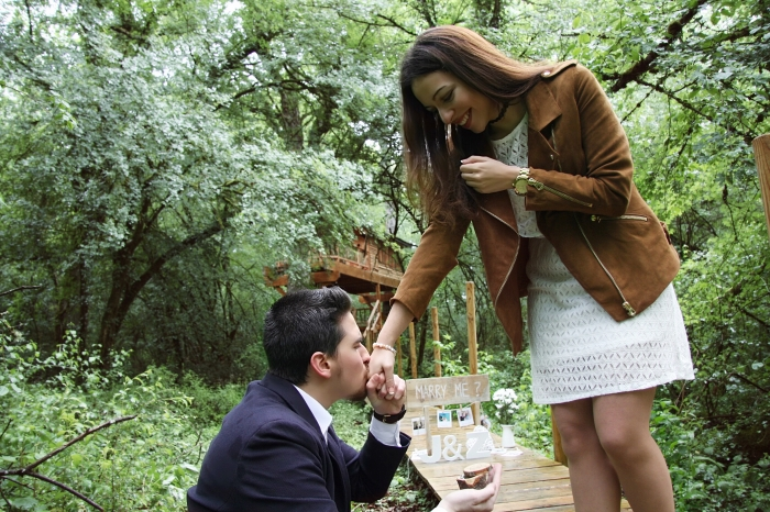 Engagement Proposal Ideas in In the Forest