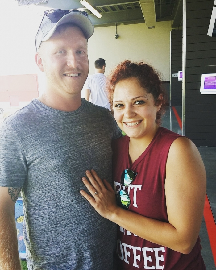Where to Propose in Top Golf, The Colony, Tx
