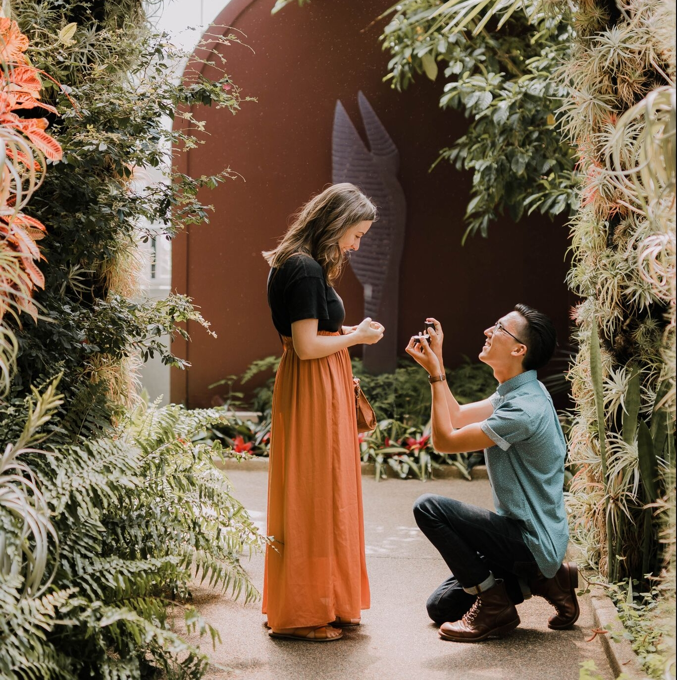 Where to Propose in Daniel Stowe Botanical Gardens