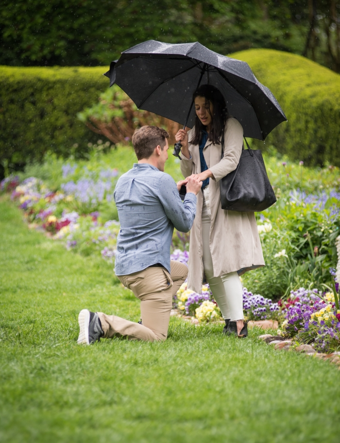 Proposal Ideas Dumbarton Oaks Wedding