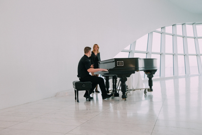 Wedding Proposal Ideas in Milwaukee Art Museum