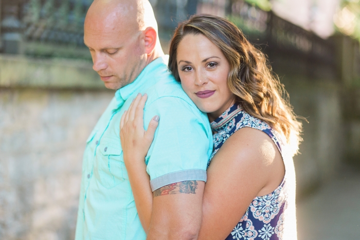 Roger and Kaylyn's Engagement in Covington, KY