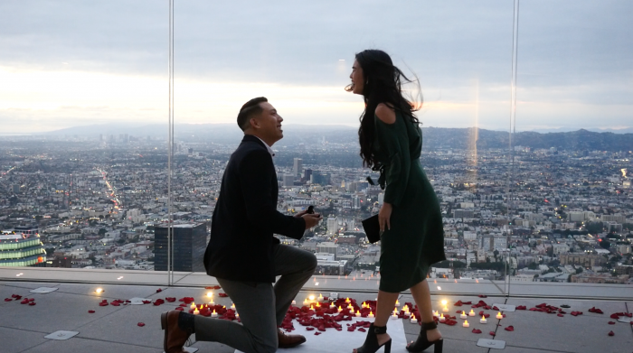 Wedding Proposal Ideas in Downtown Los Angeles