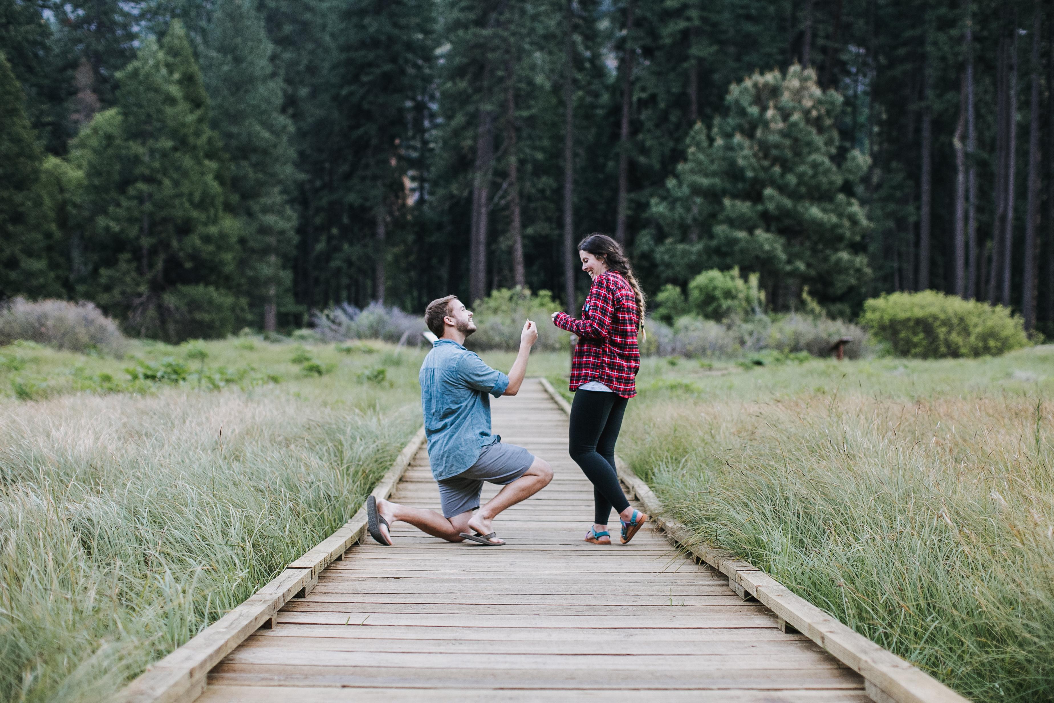 Amanda's Proposal in Yosemite National Park