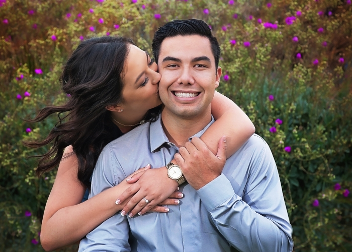 Alyssa and Adam's Engagement in Private Yacht in San Diego