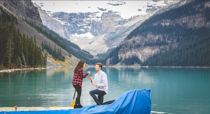 Where to Propose in Banff, AB