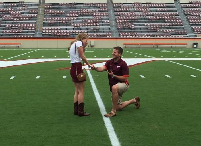 Rachel and Kris's Engagement in Blacksburg, VA