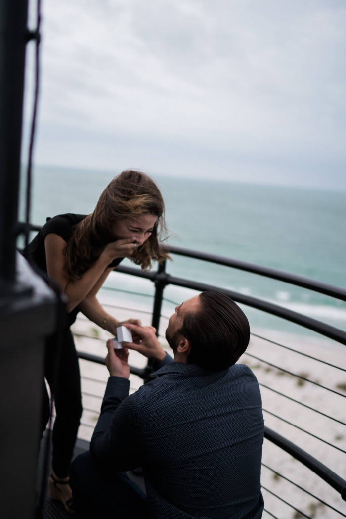 Engagement Proposal Ideas in Gasparilla Island Historic Lighthouse