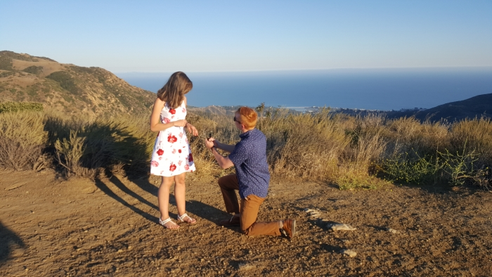 Engagement Proposal Ideas in Malibu, CA