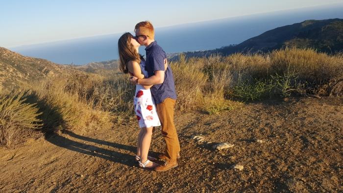 Leah and Blake's Engagement in Malibu, CA