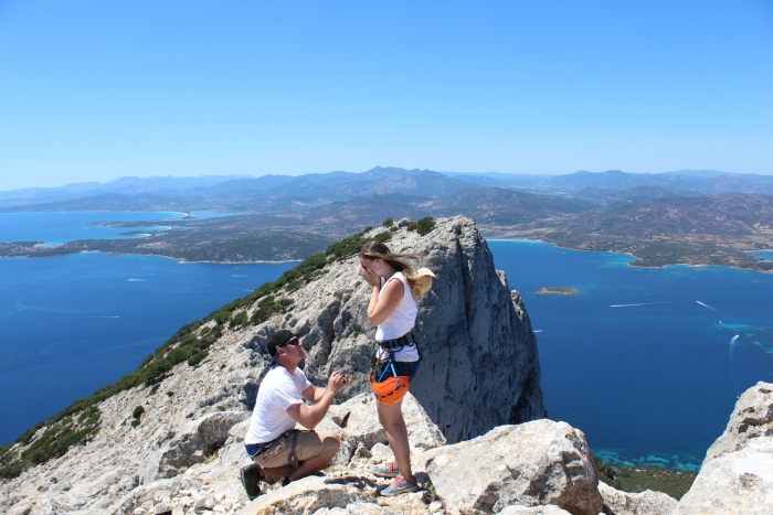 Where to Propose in Tavolara Island, Italy