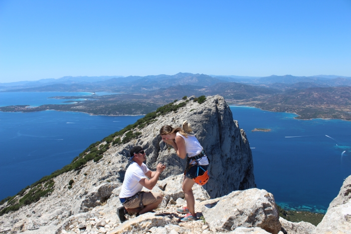 Alisa's Proposal in Tavolara Island, Italy